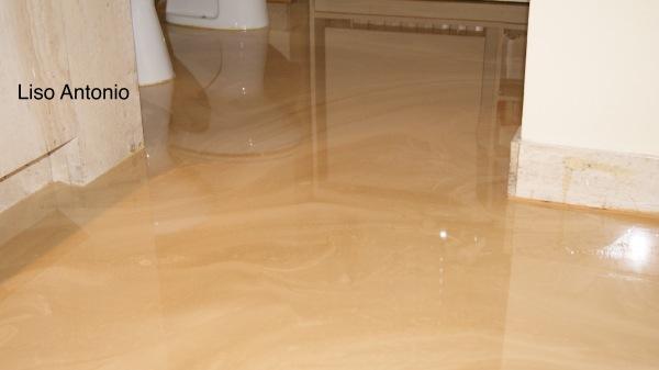 ... , pavimento in resina vetrificato, pavimento in rena effetto marmo
