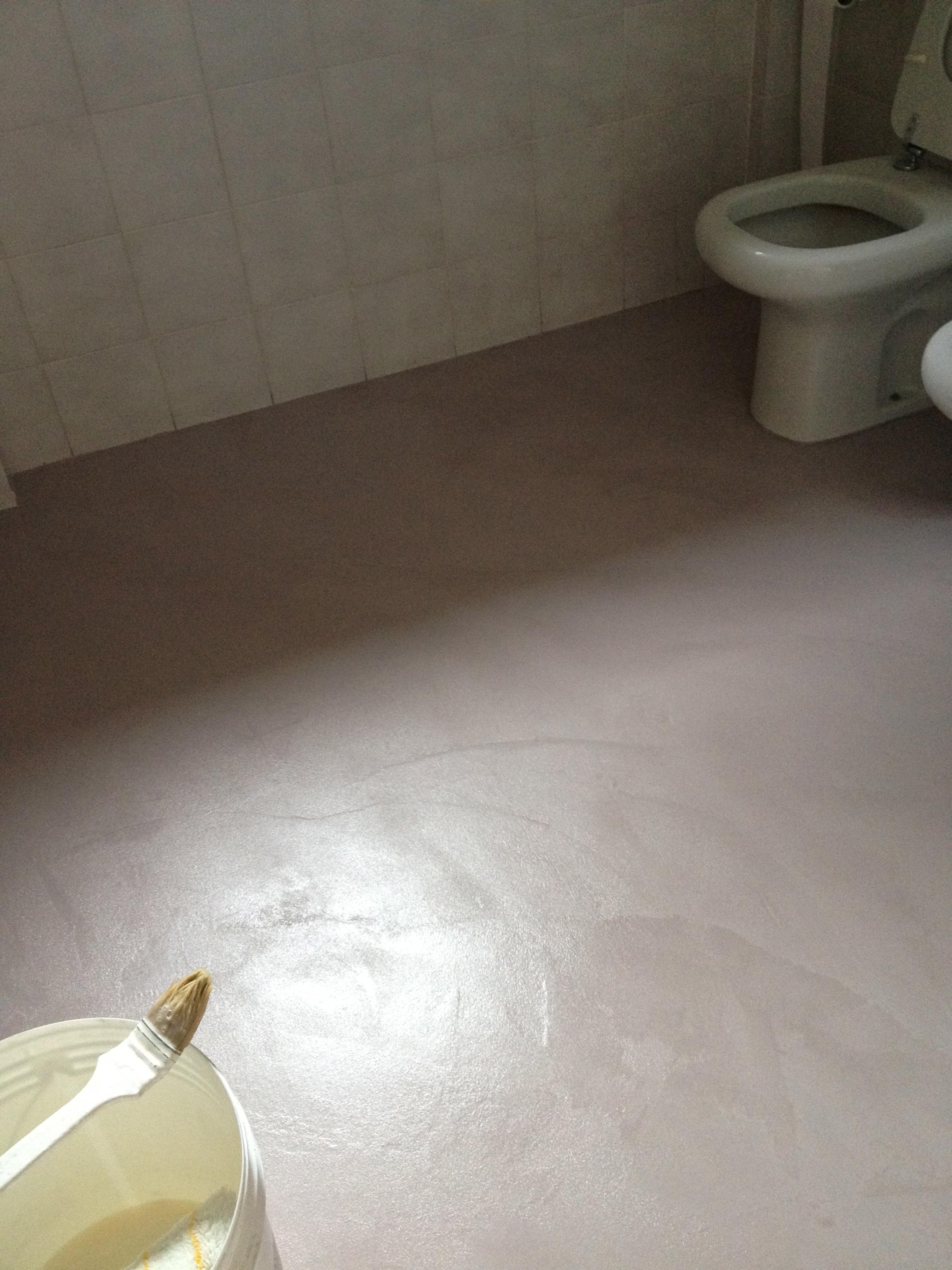 Spatolato in resina imbianchino stucco veneziano - Pavimenti bagno in resina ...