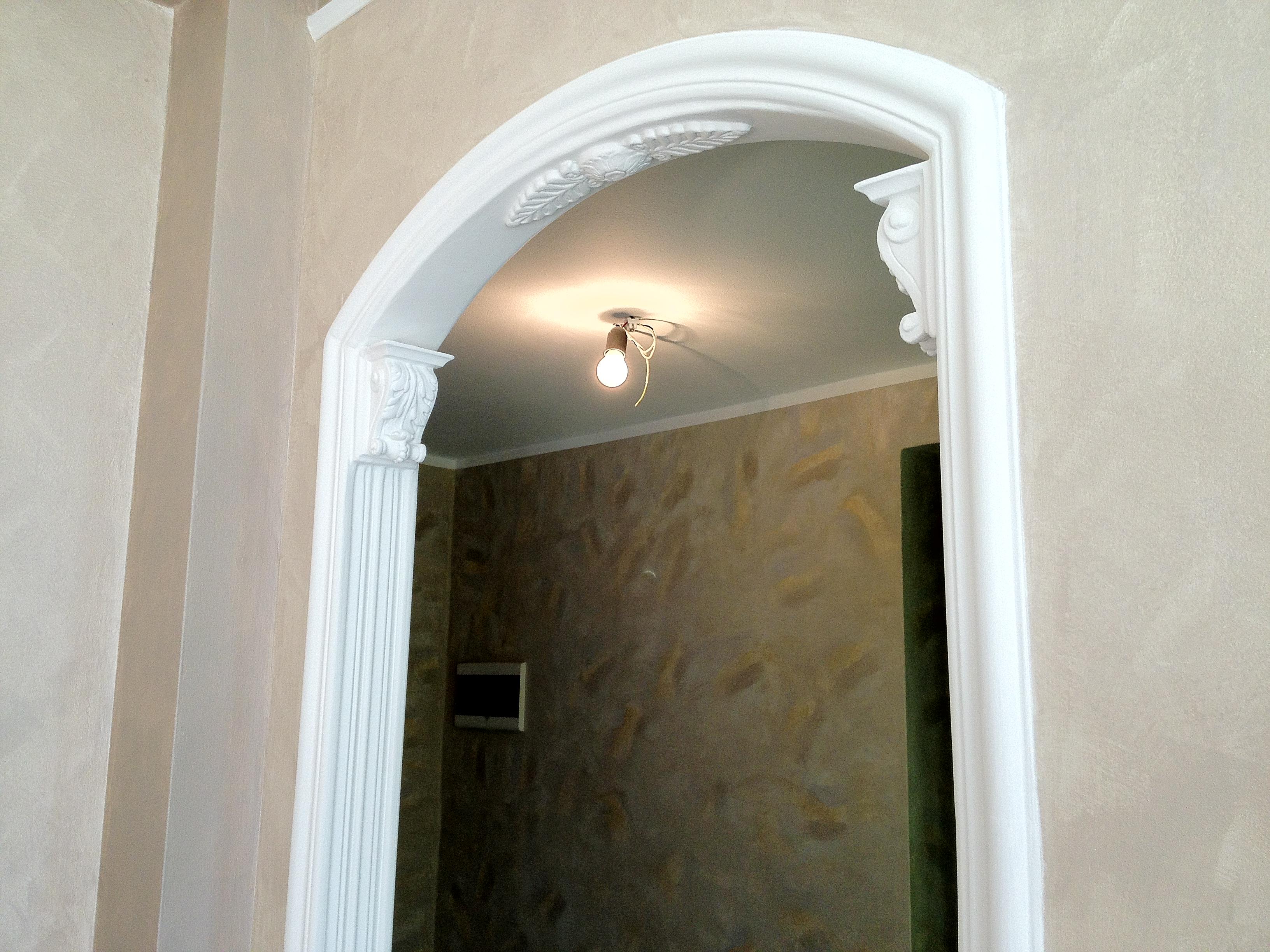 Preventivo imbiancatura milano antonio liso - Arco interno casa ...
