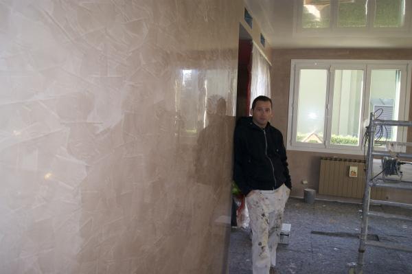 Grassello di calce spatolato imbianchino stucco for Stucco veneziano milano