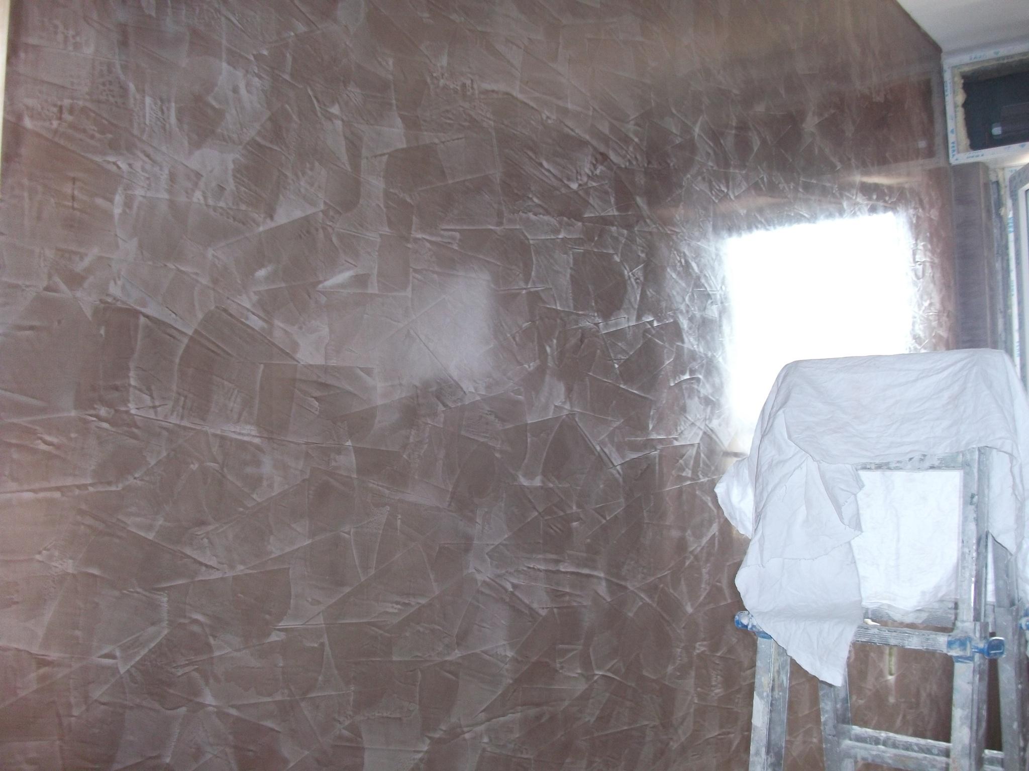 Spatolato lucido milano imbianchino stucco veneziano for Grassello di calce spatolato