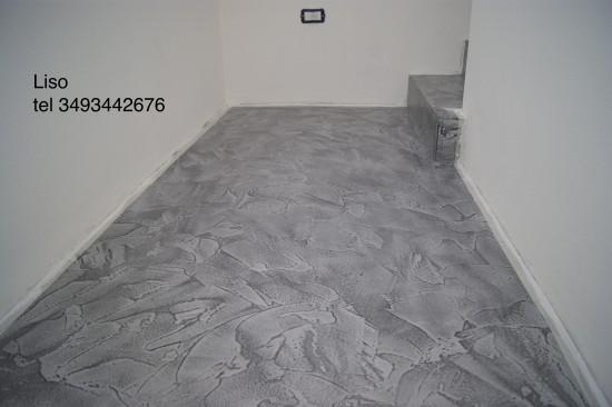 Finiture per interni a milano tel 3493442676 - Pavimento resina bagno ...