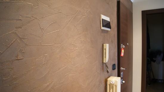 Pittura materica pareti. clicca per ingrandire materico grigio