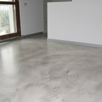 pavimento in resina milano effetto cemento