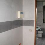 stucco veneziano con fascia a stucco
