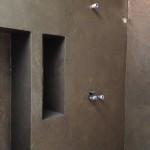 spatolato in resina bagno