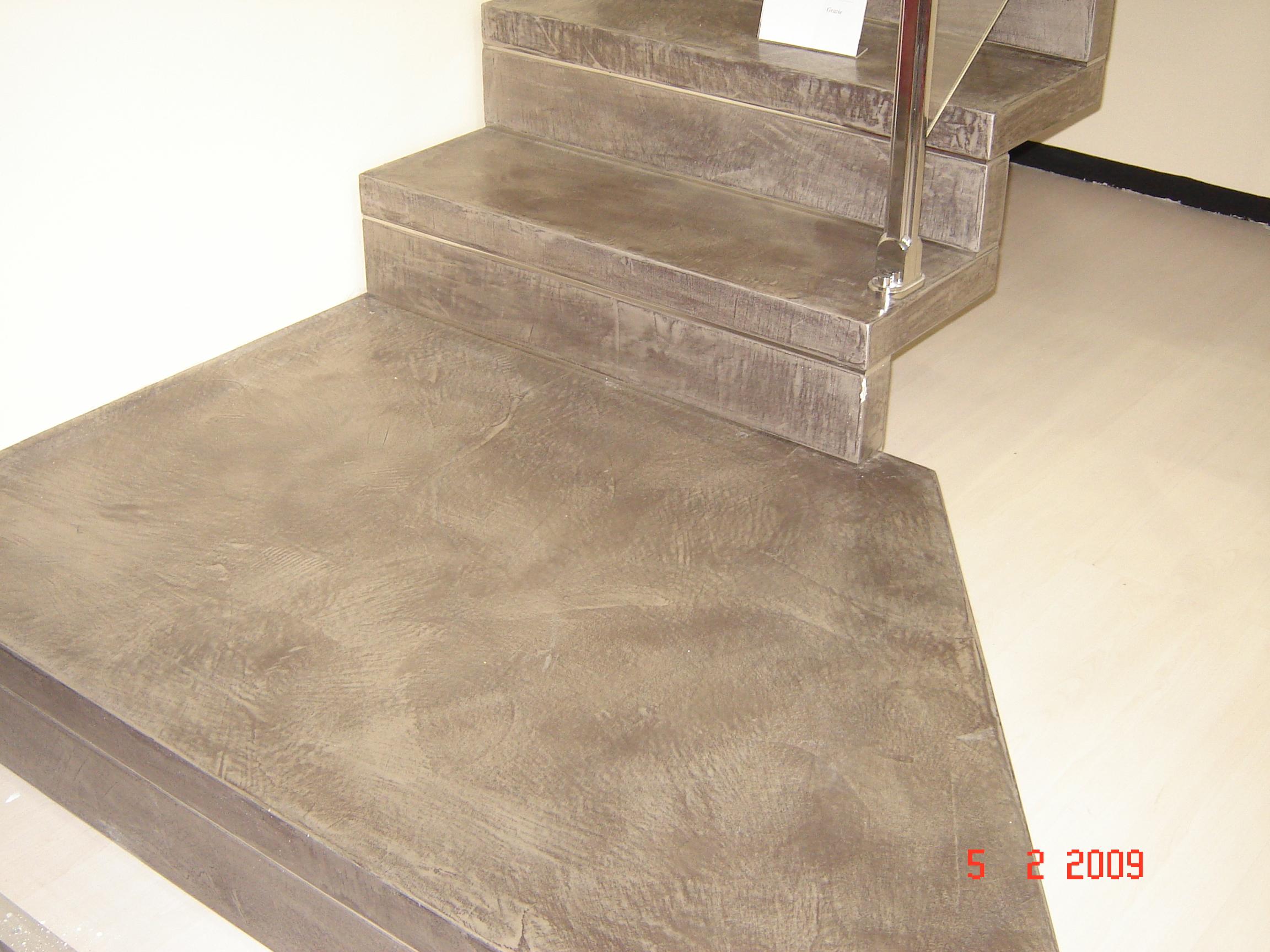 Pavimenti in resina rivestimenti resina - Gradini in cemento per esterno ...