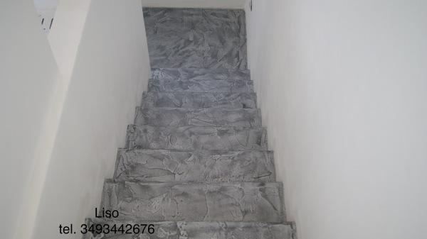 Scala in resina scale in resina imbianchino stucco veneziano