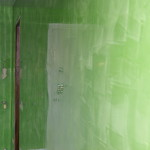 Stucco veneziano verde